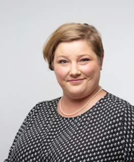 Första vicetalman Ingrid Zetterman