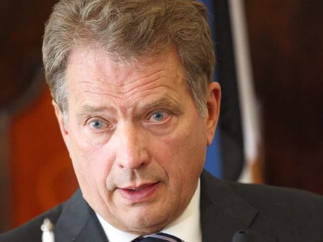 Republikens president Sauli Niinistö